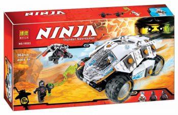 Конструктор Bela Ninja 10523  Lego Ninjago 70588 Внедорожник Титанового Ниндзя