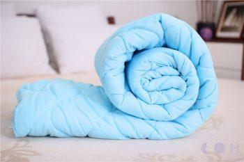 Одеяло ARDA шерстяное евро  Голубое