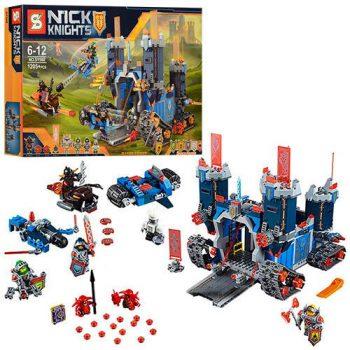 Конструктор SY568 «Nexo Knights» Мобильная крепость Фортрекс Аналог LEGO 70317