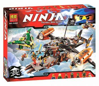 10462 Конструктор Bela Ninja «Цитадель несчастий», 757 дет. Аналог Lego Ninjago 70605