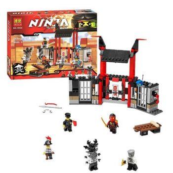Конструктор Bela 10522 аналог Lego Ninjago 70591 Побег из тюрьмы Криптариум 241 дет
