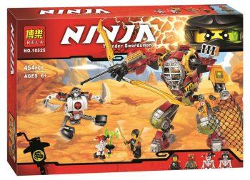 Конструктор Bela 10525 Ninja Ниндзя го «Робот Ронина»(аналог Lego Ninjago 70592)   454 дет