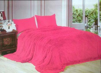 Покрывало  «Мишка ярко розовый»