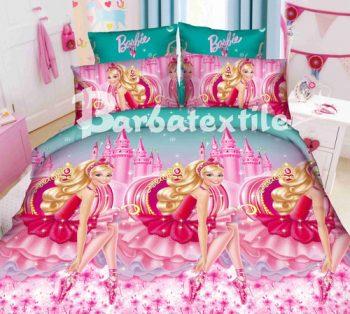 Полуторное постельное белье Барби замок ТМ Дама