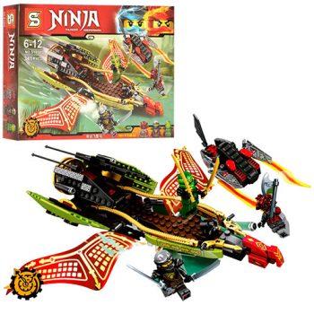 Конструктор Ниндзя Го SY858 (Аналог Lego Ninjago 70623) «Тень Судьбы»