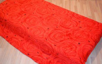 Микрофибра ELWAY1.5-я Роза красная