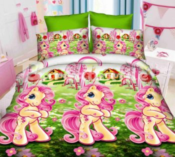 Полуторное постельное белье Май Литл Пони ТМ Дама