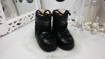 Луноходы женские Moon Boot ( Черные)