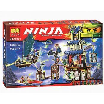 Конструктор Bela «Ninja» (10401) Призрачный город Стикс 1069 деталей