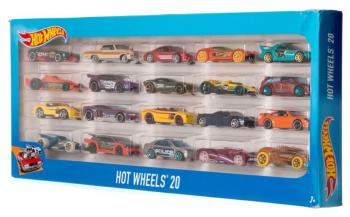 H7045 Машинки Hot Wheels 20шт