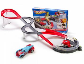 Трек Hot Wheels Скоростная спираль X2589.