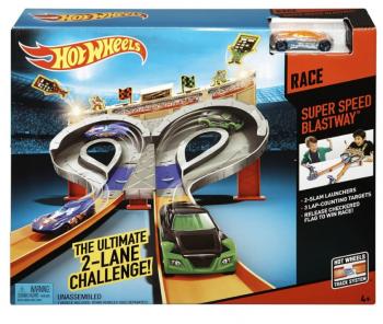 Игровой набор Hot Wheels Безумные гонки CDL49