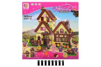 Конструктор Jilebao Домик принцессы 6026, 585 деталей