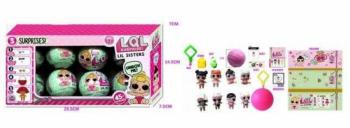 Кукла Лол сюрприз RMT-BK-LQL D1208848 (в коробке-8шт)