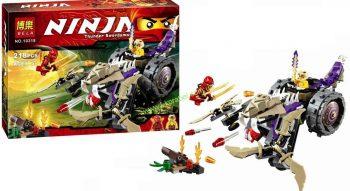 Конструктор Bela Ninja 10318 «Разрушитель клана Анакондрай» 218 деталей