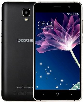 Смартфон 5″ Doogee (X10) 0,5/8GB, Black