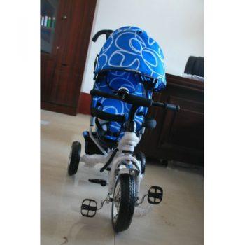 Детский трехколесный велосипед Lexx Trike колесо пластик EVA — QAT 017 СИНИЙ