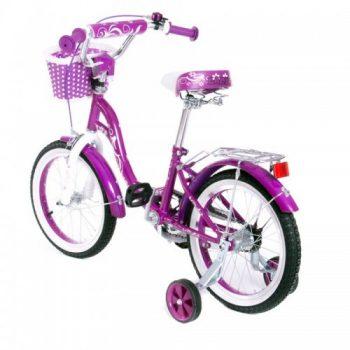Велосипед двухколесный16 SW 17017 16 фиолетовый с корзиной 1