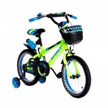 Велосипед двухколесный16″ SW-17005-16 салатовый