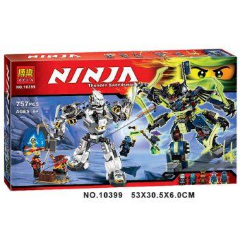 Конструктор Bela 10399 «Ninja» Битва роботов 757 деталей