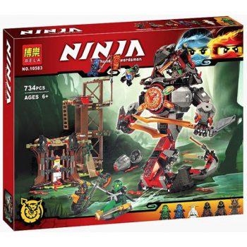 Конструктор Bela Ninja 10583 (Аналог Lego Ninjago 70626) «Железные удары Судьбы» 734 детали