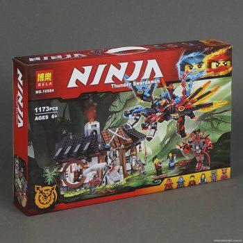 Конструктор Ninjago Bela 10584 «Кузница Дракона» 1173 деталей. Аналог Lego Ninjago 70627