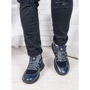 Мужские кроссовки т.синий 6882-28