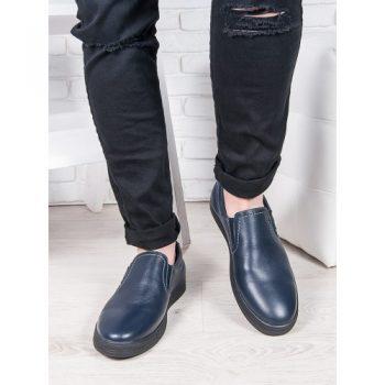Мужские синие слипоны 6896-28