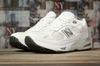 Кроссовки женские  New Balance 991, Белые 16881