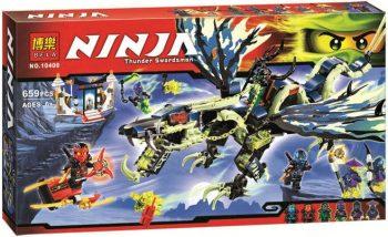 Конструктор Ninjago Ниндзя  «Атака дракона Морро»  Bela 10400  ( LEGO 70736)