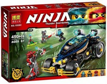 Конструктор Bela Ninja 10582 «Самурай VXL»  Аналог LEGO NINJAGO 70625