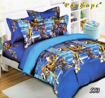 Полуторное постельное белье Тет-А-Тет Трансформеры 553
