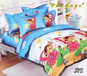 Полуторное постельное белье Тет-А-Тет  Даша  571