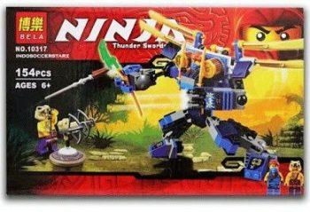 Конструктор Bela Ninja 10317 «Летающий робот Джея»