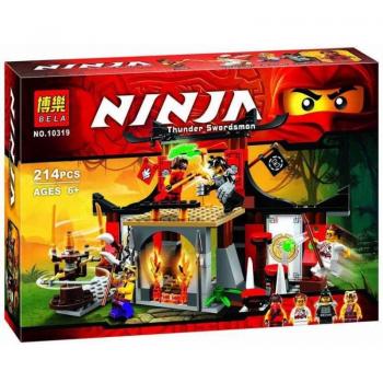 Конструктор Bela Ninja 10319 «Решающее Сражение» 214 деталей