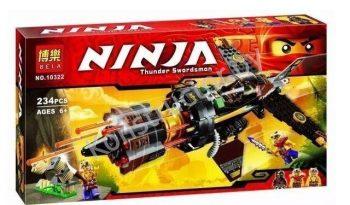 Конструктор Bela Ninja 10322 «Истребитель Коула» 234 детали