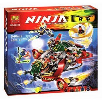 Конструктор Bela «Ninja» (10398) Ронин Рекс 546 деталей