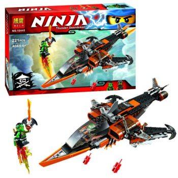 Конструктор Bela Ninja 10445 Небесная акула