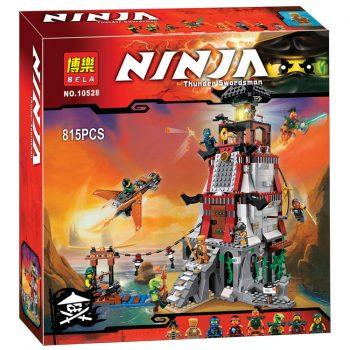Конструктор Bela «Ninja» (10528) Осада Маяка, 815 деталей