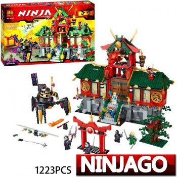 Конструктор Bela «Ninja» (9797) Битва за Ниндзяго Сити 1223 детали