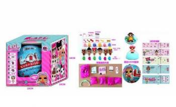 Кукла Лол сюрприз RMT-BK-LQL D1208841 (в коробке-1шт,размер-20*10*10 Cм)