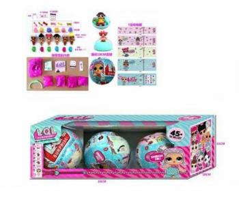 Кукла Лол сюрприз RMT-BK-LQL D1208842 (в коробке-3шт,размер-30*10*10 Cм)