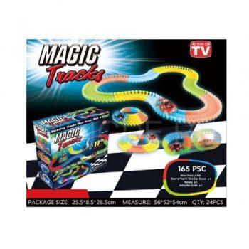 Гоночный трек Magic TrackYD170205-A-BPT 165 деталей