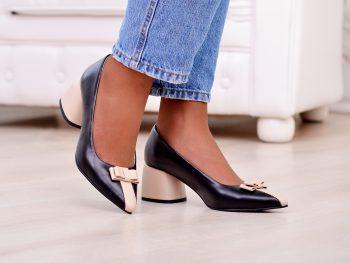 Туфли Натуральная замша/кожа  0225T (5135-514)