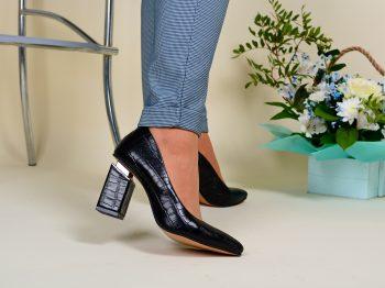 Туфли Натуральная замша/кожа   0235T-8057-1201