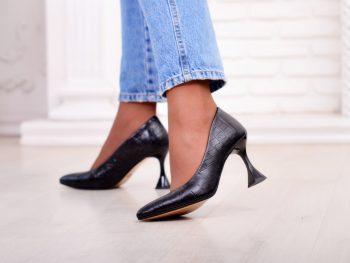 Туфли Натуральная замша/кожа   0235T (8057-8043)