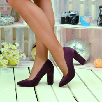 Туфли Натуральная замша/кожа   370T-9535-TO
